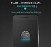 Dafoni iPhone 7 / 8 Curve Tempered Glass Premium Full Beyaz Mat Cam Ekran Koruyucu - Resim 3
