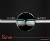 Dafoni iPhone 7 Curve Tempered Glass Premium Kırmızı Full Cam Ekran Koruyucu - Resim 3
