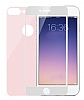 Dafoni iPhone 7 Plus / 8 Plus Ön + Arka Curve Tempered Glass Premium Rose Gold Cam Ekran Koruyucu - Resim: 6