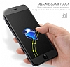 Dafoni iPhone 7 Plus / 8 Plus Curve Tempered Glass Premium Full Beyaz Mat Cam Ekran Koruyucu - Resim 2