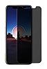 Dafoni iPhone X / XS Privacy Tempered Glass Premium Cam Ekran Koruyucu - Resim 6