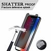 Dafoni iPhone X / XS Privacy Tempered Glass Premium Cam Ekran Koruyucu - Resim 2