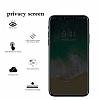 Dafoni iPhone X / XS Privacy Tempered Glass Premium Cam Ekran Koruyucu - Resim 4
