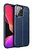Dafoni Liquid Shield iPhone 13 Pro Max Ultra Koruma Lacivert Kılıf