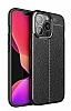 Dafoni Liquid Shield iPhone 13 Pro Ultra Koruma Siyah Kılıf