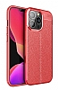 Dafoni Liquid Shield iPhone 13 Pro Ultra Koruma Kırmızı Kılıf