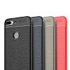 Dafoni Liquid Shield Premium HTC Desire 12 Plus Kırmızı Silikon Kılıf - Resim 3