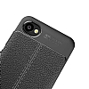 Dafoni Liquid Shield Premium HTC Desire 12 Dark Silver Silikon Kılıf - Resim 1
