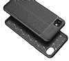 Dafoni Liquid Shield Premium HTC Desire 12 Dark Silver Silikon Kılıf - Resim 2