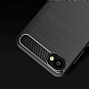 Eiroo Carbon Shield HTC Desire 12 Ultra Koruma Lacivert Kılıf - Resim 2