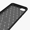 Eiroo Carbon Shield HTC Desire 12 Ultra Koruma Lacivert Kılıf - Resim 1