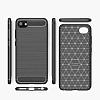 Eiroo Carbon Shield HTC Desire 12 Ultra Koruma Lacivert Kılıf - Resim 3