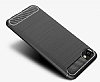 Eiroo Carbon Shield HTC Desire 12 Ultra Koruma Lacivert Kılıf - Resim 4