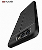 Dafoni Liquid Shield Premium Huawei P10 Siyah Silikon Kılıf - Resim 4