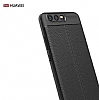 Dafoni Liquid Shield Premium Huawei P10 Siyah Silikon Kılıf - Resim 2