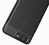 Dafoni Liquid Shield Premium Huawei P10 Siyah Silikon Kılıf - Resim 1
