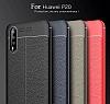 Dafoni Liquid Shield Premium Huawei P20 Lacivert Silikon Kılıf - Resim 4