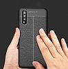 Dafoni Liquid Shield Premium Huawei P20 Lacivert Silikon Kılıf - Resim 3