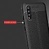 Dafoni Liquid Shield Premium Huawei P20 Lacivert Silikon Kılıf - Resim 6