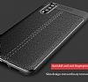 Dafoni Liquid Shield Premium Huawei P20 Gri Silikon Kılıf - Resim 1