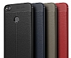 Dafoni Liquid Shield Premium Huawei P9 Lite 2017 Siyah Silikon Kılıf - Resim 6