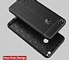 Dafoni Liquid Shield Premium Huawei P9 Lite 2017 Siyah Silikon Kılıf - Resim 1