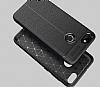 Dafoni Liquid Shield Premium Huawei P9 Lite Mini Lacivert Silikon Kılıf - Resim 1