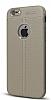 Dafoni Liquid Shield Premium iPhone 6 / 6S Gri Silikon Kılıf - Resim 10