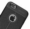 Dafoni Liquid Shield Premium iPhone 6 / 6S Siyah Silikon Kılıf - Resim 5