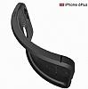 Dafoni Liquid Shield Premium iPhone 6 / 6S Siyah Silikon Kılıf - Resim 3