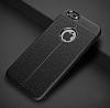 Dafoni Liquid Shield Premium iPhone 6 / 6S Siyah Silikon Kılıf - Resim 1