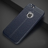 Dafoni Liquid Shield Premium iPhone 6 / 6S Lacivert Silikon Kılıf - Resim 9