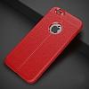 Dafoni Liquid Shield Premium iPhone 6 / 6S Kırmızı Silikon Kılıf - Resim 9