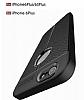 Dafoni Liquid Shield Premium iPhone 6 / 6S Siyah Silikon Kılıf - Resim 4