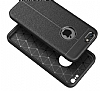 Dafoni Liquid Shield Premium iPhone 6 / 6S Siyah Silikon Kılıf - Resim 2