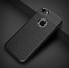 Dafoni Liquid Shield Premium iPhone 6 Plus / 6S Plus Siyah Silikon Kılıf - Resim 1