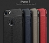 Dafoni Liquid Shield Premium iPhone 7 Siyah Silikon Kılıf - Resim 5