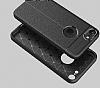 Dafoni Liquid Shield Premium iPhone 7 Siyah Silikon Kılıf - Resim 1