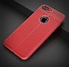 Dafoni Liquid Shield Premium iPhone 7 Plus / 8 Plus Kırmızı Silikon Kılıf - Resim 6