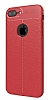 Dafoni Liquid Shield Premium iPhone 7 Plus Kırmızı Silikon Kılıf - Resim 7