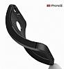 Dafoni Liquid Shield Premium iPhone SE / 5 / 5S Kırmızı Silikon Kılıf - Resim 6