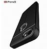 Dafoni Liquid Shield Premium iPhone SE / 5 / 5S Kırmızı Silikon Kılıf - Resim 7