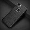 Dafoni Liquid Shield Premium iPhone SE / 5 / 5S Siyah Silikon Kılıf - Resim 1
