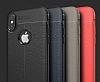 Dafoni Liquid Shield Premium iPhone X Kırmızı Silikon Kılıf - Resim 4