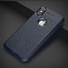 Dafoni Liquid Shield Premium iPhone X Lacivert Silikon Kılıf - Resim 5
