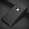 Dafoni Liquid Shield Premium iPhone X Siyah Silikon Kılıf - Resim 1