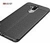 Dafoni Liquid Shield Premium LG G7 ThinQ Siyah Silikon Kılıf - Resim 4