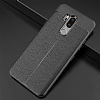 Dafoni Liquid Shield Premium LG G7 ThinQ Siyah Silikon Kılıf - Resim 1