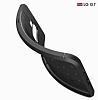 Dafoni Liquid Shield Premium LG G7 ThinQ Siyah Silikon Kılıf - Resim 3