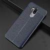 Dafoni Liquid Shield Premium LG G7 ThinQ Lacivert Silikon Kılıf - Resim 4